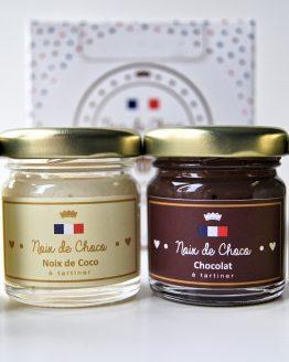 Coffret 4 pâtes à tartiner Noix de Choco