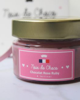 Chocolat rose Ruby à tartiner