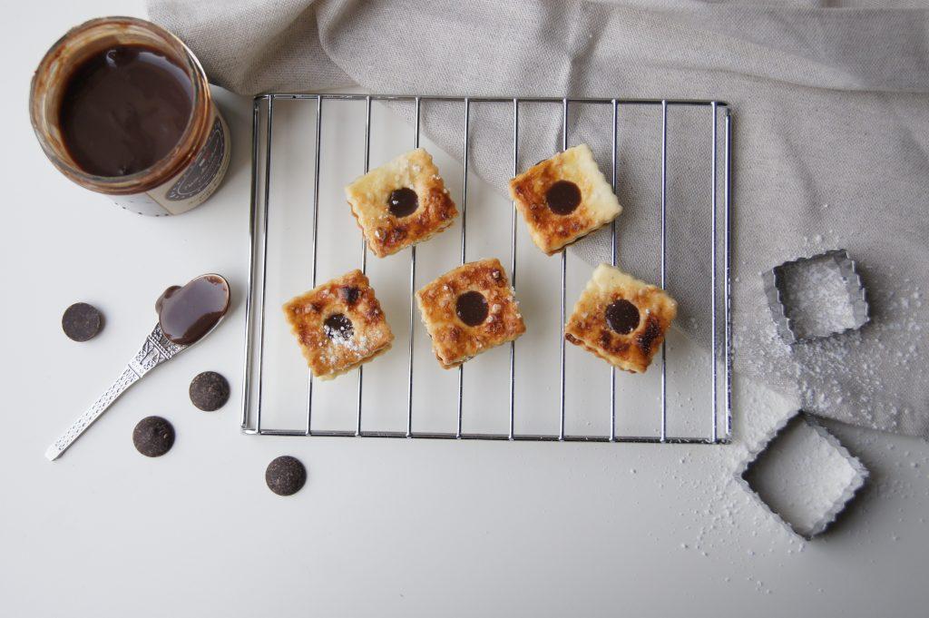 Biscuits sablés au chocolat à tartiner - Noix de Choco