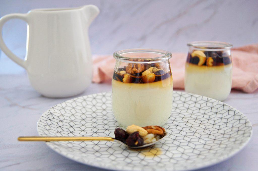 Crème dessert fleur d'oranger - Recette Noix de Choco