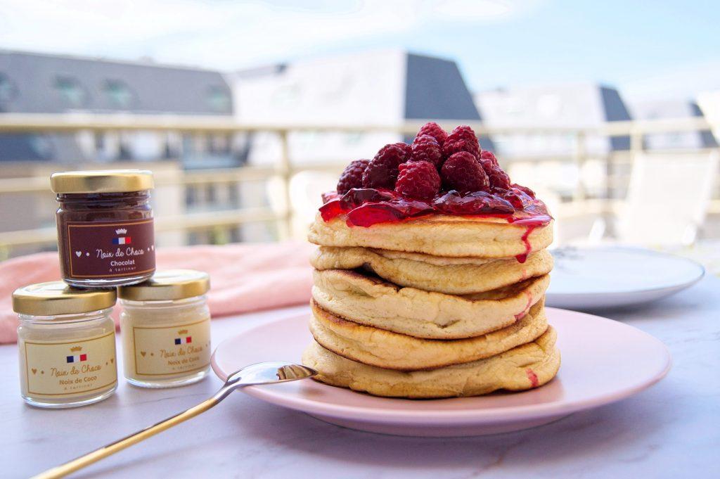 Fluffy pancakes - recette Noix de Choco