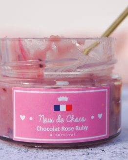 Pâte à tartiner au chocolat rose Ruby