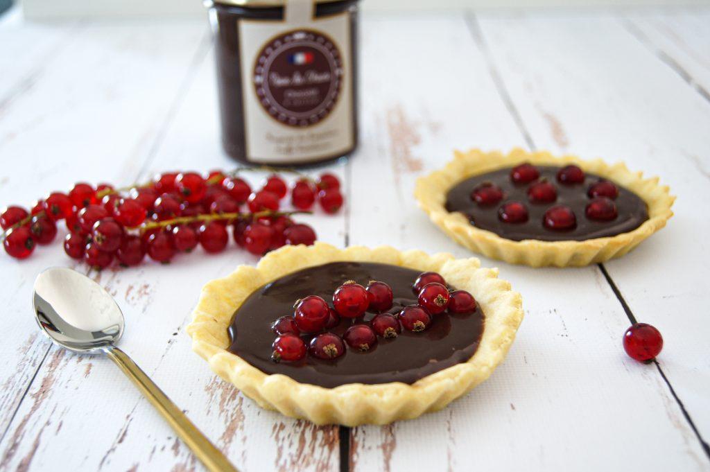 La douceur du chocolat associée à l'acidité de la groseille - Un régal pour les papilles !