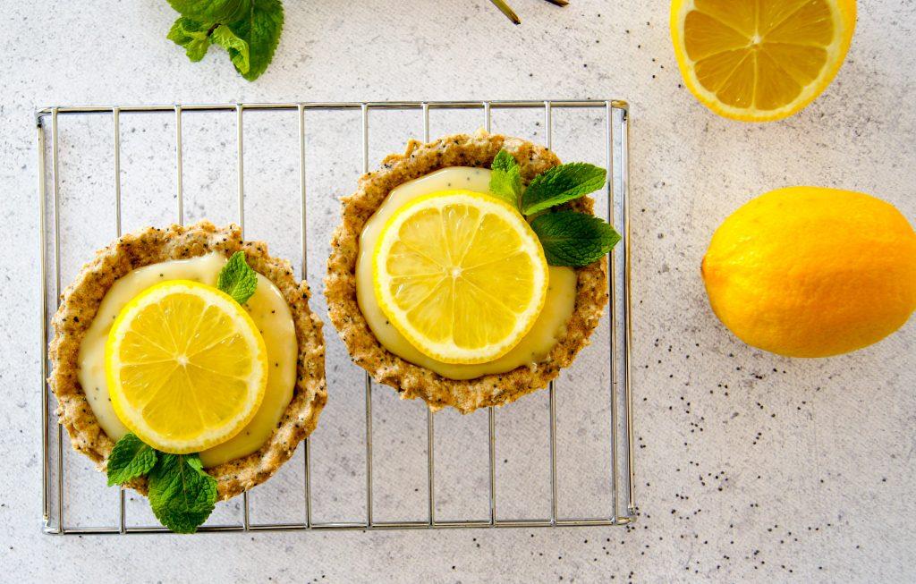 Un régal ! Des tartelettes au citron pavot pour le dessert ou pour le goûte