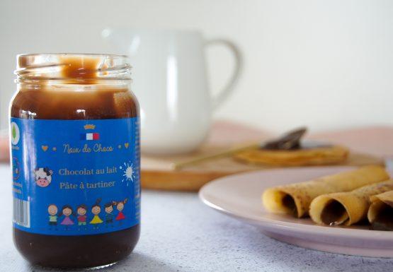 Pâte à tartiner chocolat au lait