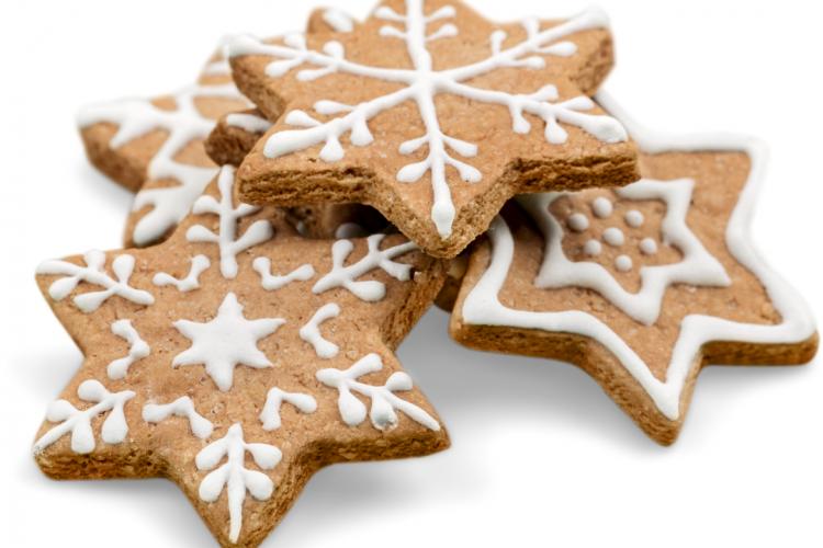 Biscuits étoiles pour Noel
