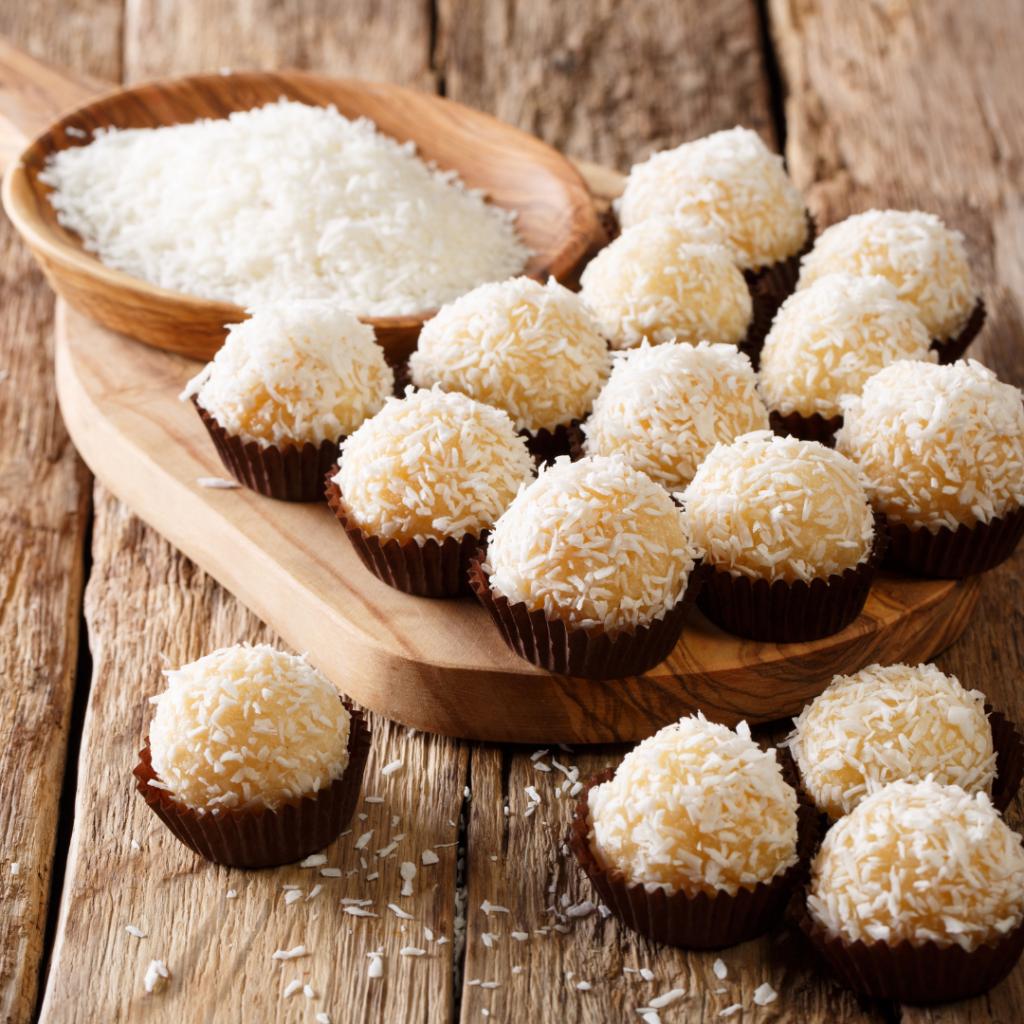 Beijinho, truffe brésilienne à la noix de coco
