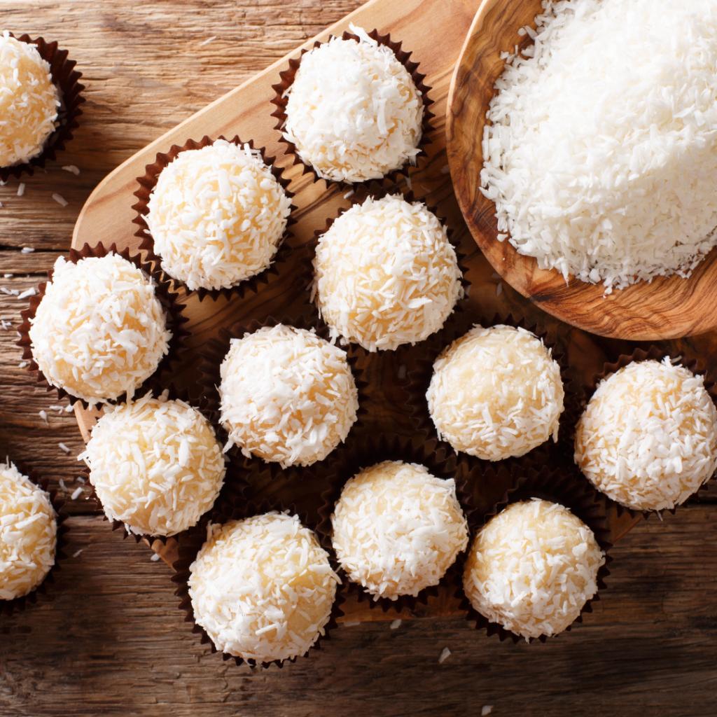 Ces irrésistible petites boules à la noix de coco sont un régal !