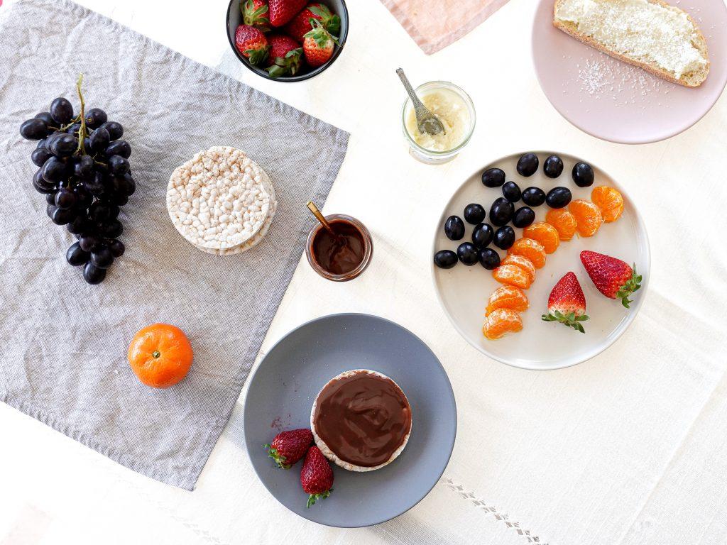 La douceur des pâtes à tartiner associée à l'acidité des fruits font un délicieux mariage