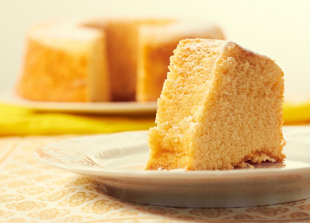 Gâteau moelleux à la farine de maïs