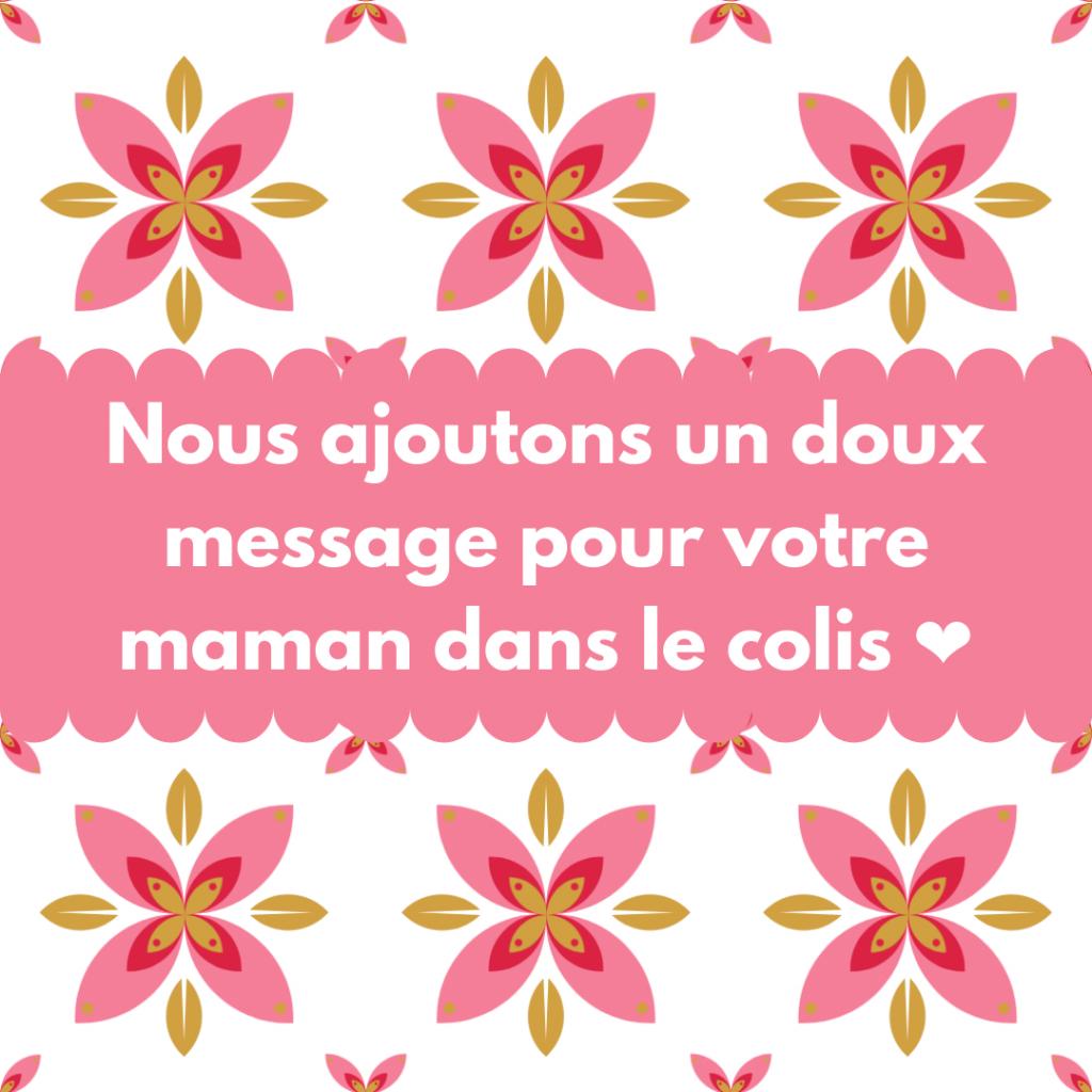 Un doux message pour votre maman
