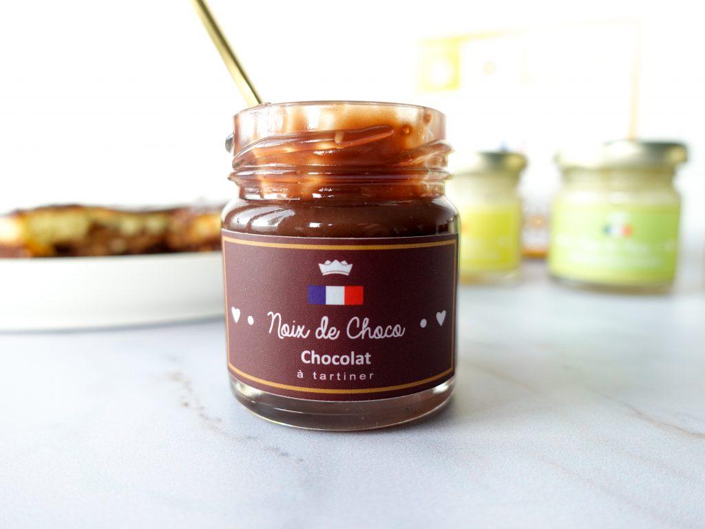 Chocolat à tartiner - coffret découverte 4 saveurs