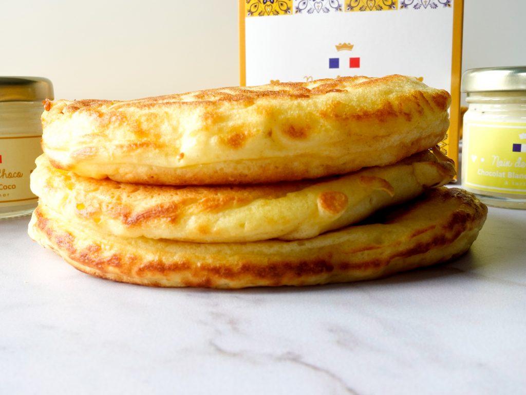 Pancakes américain très moelleux et bien épais